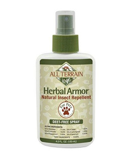All Terrain Natural Pet Herbal Armor Insect Repellent Spray