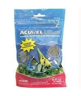 Acurel LLC Economy Activated Filter Carbon Pellets Aquarium and Pond Filter Accessory, 8-Ounce