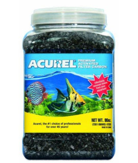 Acurel LLC Premium Activated Filter Carbon Aquarium and Pond Filter Accessory, 90-Ounce