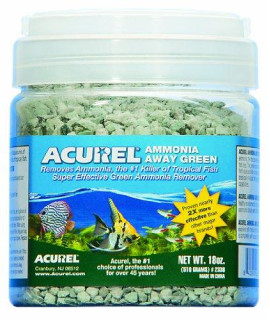 Acurel LLC Ammonia Away Green Aquarium and Pond Filter Accessory, 18-Ounce