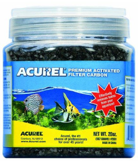 Acurel LLC Premium Activated Filter Carbon, 20-Ounce