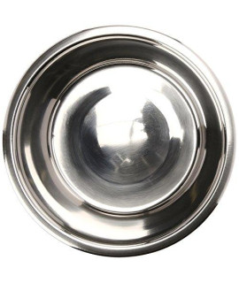 QT Dog Standard Stainless Steel Food Bowl, 2 quart