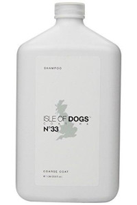 Isle of Dogs Coature No. 33 Coarse Coat Dog Shampoo for wire or crisp coats, 1 liter