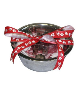 A Pet Project Pet Bowl and Cookie Cutters Set, 1 quart