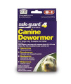 8 In 1 Safe Guard Canine Dewormer for Medium Dogs, 2-Gram (3 Pouches per Pack)