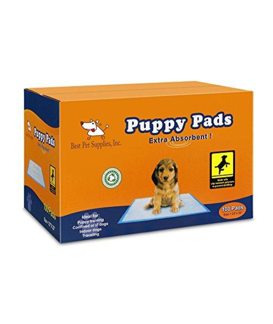 BPS - Premium Puppy Training Pad - 100 Pcs, Blue