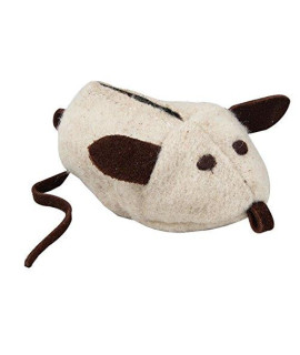 ABO Gear Wool Mouse Cat Toy