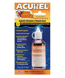 Acurel LLC Bodyguard RX 50-ml Aquarium and Pond Water Treatment Treats, 500-Gallon