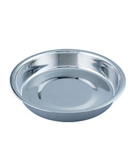 QT Dog Puppy Stainless Steel Pan, 8""