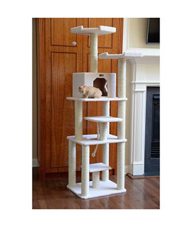 Armarkat 78 Inch Deluxe Cat Tower with Rope