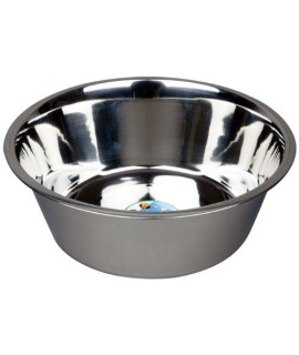Advance Pet Products Stainless Steel Feeding Bowls, 10-Quart