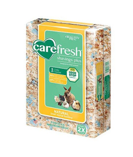 carefresh shavings plus small pet bedding, 69.4L (Pack May Vary)