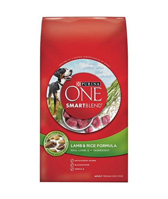 Purina ONE SmartBlend Lamb & Rice Formula Dry Dog Food