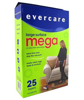 Evercare Mega Cleaning Roller With 3 Foot Extendable Handle (3 Pack)