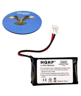 HQRP Battery for Dogtra BP37T fits iQ Portable Remote Controlled Dog Training Transmitter, TCL PR-562440N plus Coaster