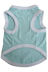 Iconic Pet Pretty Pet Tank Top, X-Small, Blue