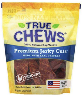 "True Chews 6-Pack ""The Original"" Chicken Jerky Fillets in Re-sealable Pouch, 12-Ounce"