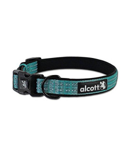 Alcott Mariner Adventure Pet Collar, Large, Blue
