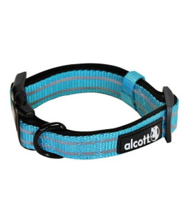 Alcott Mariner Adventure Pet Collar, Small, Blue