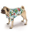 "Casual Canine Hawaiian Breeze Camp Shirt For Dogs, 24"" Xl"