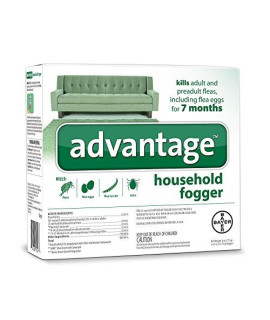 Advantage ZX9428 02 Household Fogger, 2-Ounce, 3-Pack