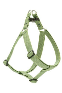 "LupinePet Eco 1"" Moss 19-28"" Step In Harness for Medium Dogs"