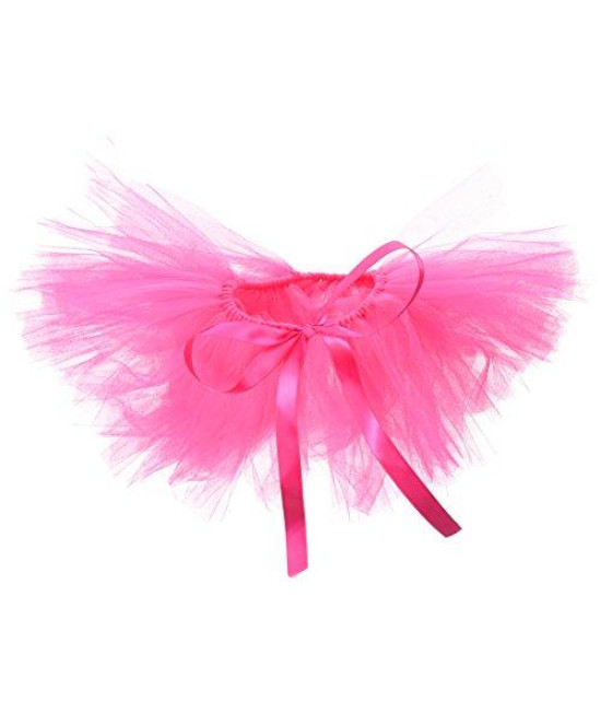 PAWPATU Tulle Tutu for Dogs or Cats, Large, Hot Pink