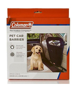 Coleman Pet Car Barrier, Black