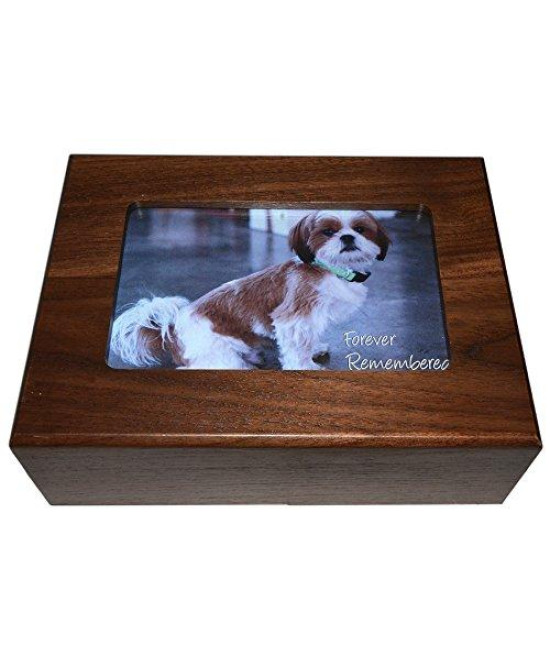 Imagine This Pet Urn Picture Frame Box, 8 by 6 by 2.75-Inch