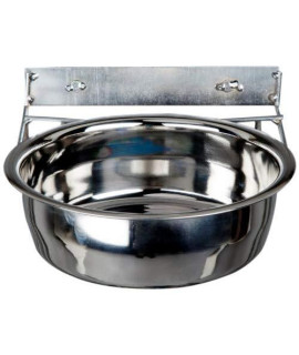 Advance Pet Products Stainless Steel Coop Cups With Clamp, 96-Ounce