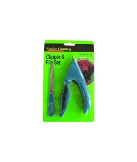 Westminster Pet Products Soft Grip Nail File/Clipper Set For Dogs  Cats