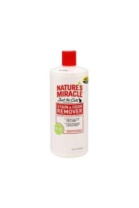 32 Oz Natures Miracle Stain and Odor Remover For Cats