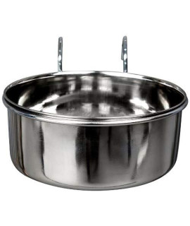 Advance Pet Products Stainless Steel Coop Cups With Hook, 5-Ounce