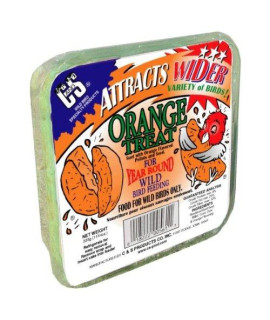 C & S Products Orange Treat, 12-Piece
