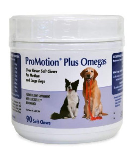 Promotion Plus Omegas Soft Chews Medium Large Dogs (90 ct)