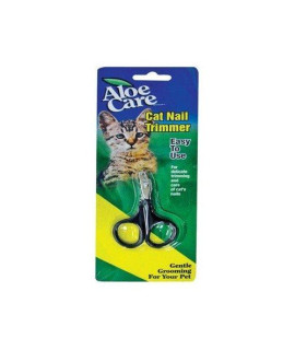 Aloe Care 8220 Scissor Style Cat Nail Clipper, Small