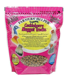 Bird Products/Food Cackleberry Nugget Treat, 1.68 lbs (27oz), Small