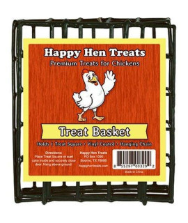 Happy Hen Treats Treat Square Basket