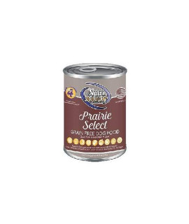 Nutrisource Grain Free Canned Prairie Select Dog Food 12/13Oz