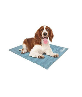 "Coleman Pressure Activated Comfort Cooling Gel Pet Pad Mat In Medium 24""X30"", For Medium Pets, Keep Your Pet Cool, And Reduce Joint Pain. Year Round Use 100% Safe Non-Toxic Materials"