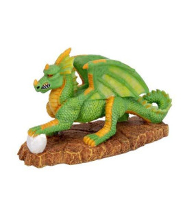 Pennplax Green Dragon Aquarium Resin Ornament, Medium