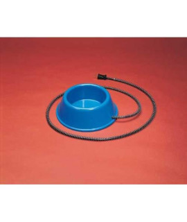 1 Qt. Heated Bowl Plastic