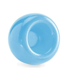 Planet Dog Orbee-Tuff Snoop - Tough & Durable Interactive Dog Ball Treat Dispenser Game - Brain Stimulating Puzzle and Treat Holder Toy for Dogs, Blue