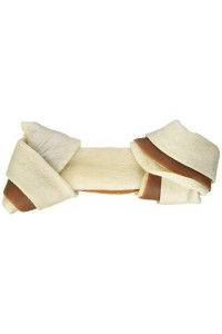 Ruffin It Bacon Wrap Rawhide Bone (Pack Of 2), Medium