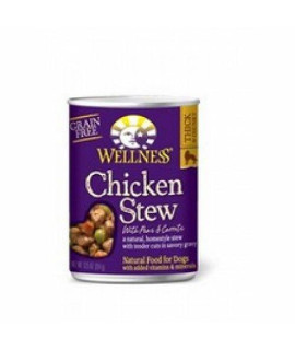 Wellness Chicken Stew With Peas & Carrots (12X12.5 Oz)