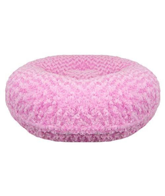 Bessie And Barnie Signature Cotton Candy Extra Plush Faux Fur Bagel Pet / Dog Bed (Multiple Sizes)