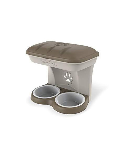 Bama Pet Elevated Food Stand - Medium