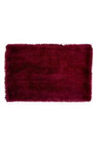 "Dii Bone Dry Faux Fur Silky Soft Xxx-Large Pet Cage Liner For Dogs & Cats, 29X48"", Perfect For Kennels, Car Trips, Floors, Crates-Cranberry Red"