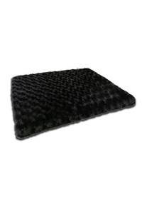 "Beatrice Home Fashions Tobptb23Blk Tobey Orthopedic Pet Bed, 23"", Black"