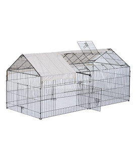 "Generic e Kenn House Cage Cover creen Run Play ay House 87"" Dog Pet l Sunscreen Enclosure Kennel Pet Enclosur Sunscreen Outdoor Dog Pet"